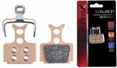 Klocki hamulca tarczowego prox spiekane formuła mega one r1, r2, rx