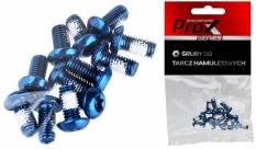 Śruby do tarczy hamulcowej Prox niebieskie
