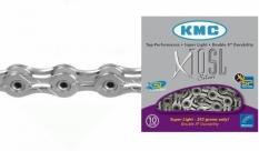 """Łańcuch rowerowy KMC x10sl 1/2""""x11/128"""" 114 ogniw 10-rz."""