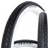 Opona Kenda 24 x 1,75 k924 e-bike biały bok