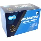 Spinki łańcucha rowerowego KMC Missinglink E9 EPT 40