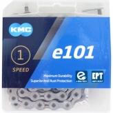 Łańcuch KMC E101 dla e-bike 112og. Srebrny