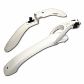 """Błotniki rowerowe Simpla Hammer SPL-HC2 24-28"""" białe"""