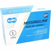 Spinki łańcucha rowerowego Missinglink KMC EPT 40szt