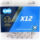 KMC łańcuch X-12 srebrny 126og.
