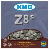 """Łańcuch rowerowy KMC Z8S 1/2""""x3/32"""" 116 ogniw 8-rz."""