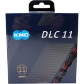 Łańcuch rowerowy KMC DLC11 czarny/czerwony
