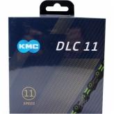 Łańcuch rowerowy KMC DLC11 czarny/zielony