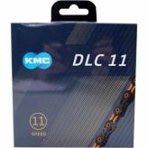 Łańcuch rowerowy KMC DLC11 czarny/pomarańczowy