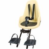 Fotelik rowerowy przedni Bobike Mini Go lemon