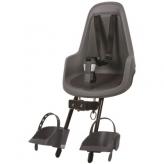 Fotelik rowerowy Bobike Mini Go grey