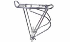 """Bagażnik rowerowy O-Stand 26-28"""" alu srebrny"""