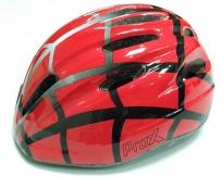 Kask rowerowy dziecięcy Prox Spidy M czerwony