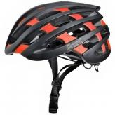 Kask rowerowy Prox No Limit L czarny-czerwony