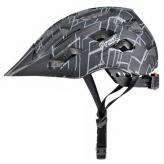 Kask rowerowy Prox Storm L czarny-szary
