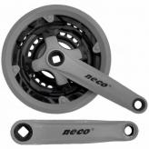 Mechanizm korbowy Neco NSP3002 152x24/34/42T szary