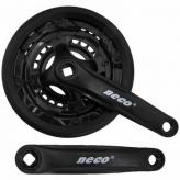 Mechanizm korbowy Neco NSP3002 152x24/34/42T czarn