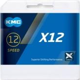 Łańcuch rowerowy KMC X12 czarny