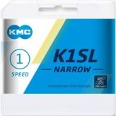 Łańcuch rowerowy KMC K1SL srebrny