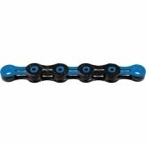 Łańcuch rowerowy KMC DLC12 czarny/niebieski