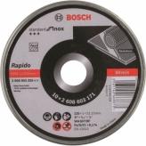 Bosch Prof doorslijpschijf recht RVS 125 mm (10)