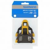 Bloki pedałów SM-SH11 SPD-SL;Samoregulujące;Żółte