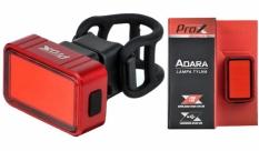Lampka rowerowa tylna Prox Adara cob led USB