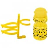 Bidon dla dzieci pro 300 smile żółty