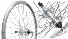 """Koło rowerowe tylne 24"""" swift stożek tarcza wolnobieg QR"""