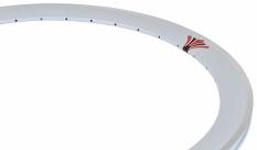 Obręcz rowerowa 700 fix swift j14 dt stożek biała