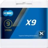 Łańcuch KMC X9 Ti-N Gold 114og.