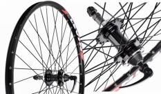 Koło rowerowe tylne 27,5 MTB Levin j20s Joytech d242 tarcza wolnobieg