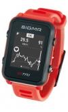 Pulsometr Sigma ID.TRI czerwony 24260 set