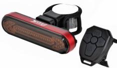 Lampka rowerowa tylna Prox Sargas USB pilot kierunkowskaz