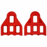 Bloki do pedałów FPD-CT001 Look czerwone
