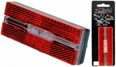 Lampka rowerowa tylna X-light bagażnik LED baterie