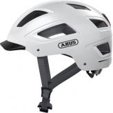 Kask rowerowy ABUS Hyban 2.0 Polar White M