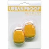 Zestaw lampek rowerowych Urban Proof żółte