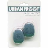 Zestaw lampek rowerowych Urban Proof  Icy blue