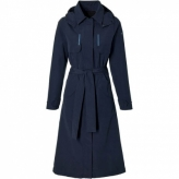 Basil trenchcoat Mosse damesNight Blue L