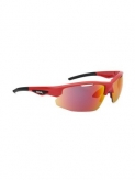 Okulary spiuk rimma czerwone unisex