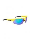 Okulary Spiuk Rimma żółte unisex