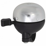Dzwonek rowerowy Alu/PVC 51mm srebrny