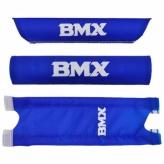 """Ochraniacz na kierownicę BMX 16"""" niebieski"""