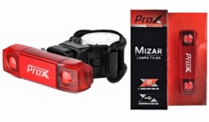 Lampka rowerowa tylna Prox Mizar LED USB