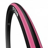 Opona rowerowa CST 700x25c c-1406 czarna/różowa