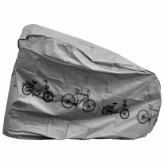 Pokrowiec na rower IB-FSBPC015  srebrny