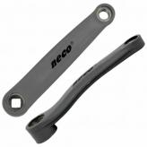 Korba lewa Neco NSP3002 Stal/PCV 170mm kwadrat
