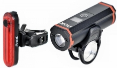 Zestaw lampek rowerowych Prox Vesta USB