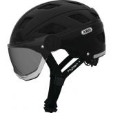 Kask rowerowy Abus Hyban+smoke visor L black